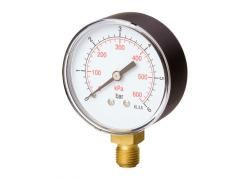 Manometer D63R-10bar